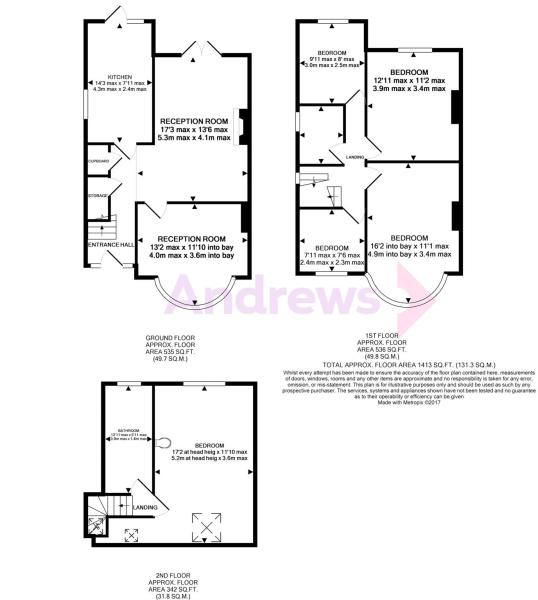 77 Mawney Road Floorplan