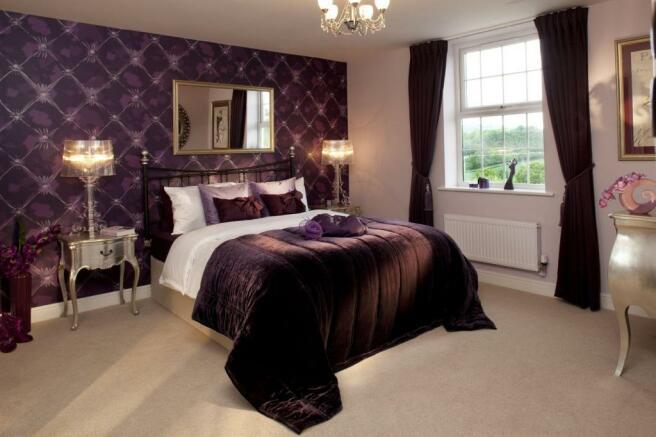 The Burleigh bedroom