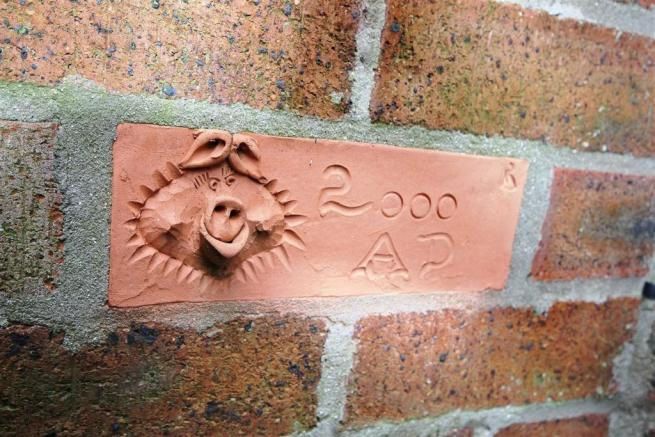 'Hogg The Builder' Brick