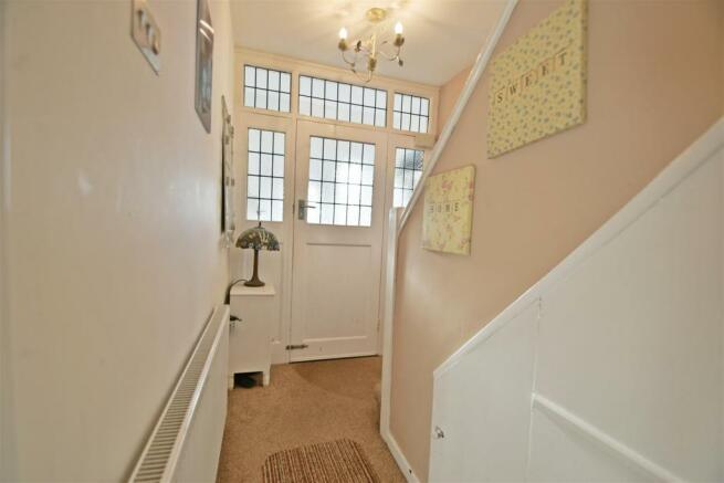 Porch and Hallway
