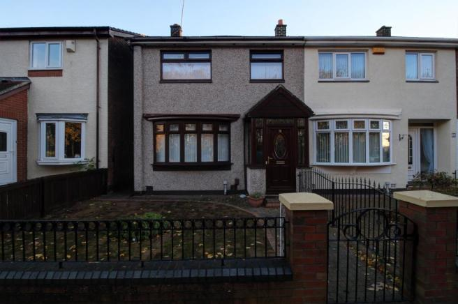 bedroom terraced house to rent in baltimore avenue town end farm