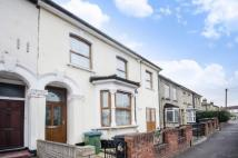 Terraced property in Clarendon Road...