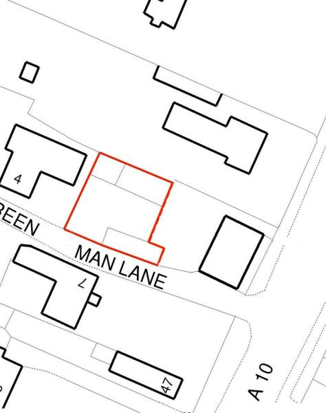 Location plan - barn