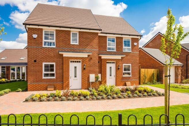 Holly Blue Meadows, Burntwood - Barwick and Ashford house