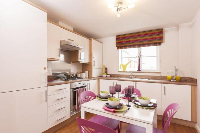Typical Bromwich BV fitted kitchen