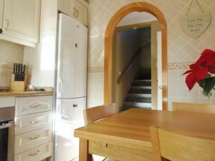 Kitchen to stairway