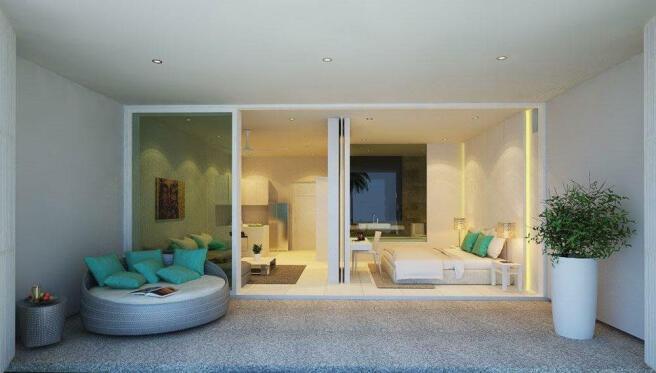 2nd floor 1 bed