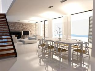 dining and living ar