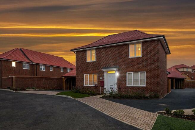 Aylesham Village dusk imagery