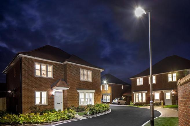 New homes at Aylesham Village