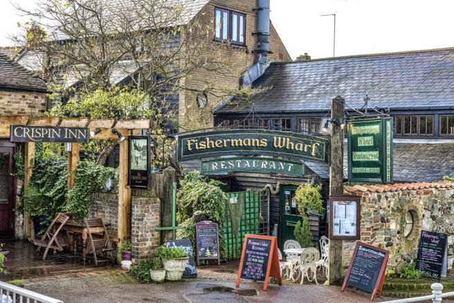 Fishmans wharf restaurant at Aylesham