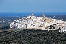 Ostuni white city