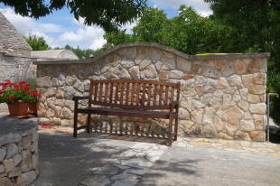 Bench in the shadow
