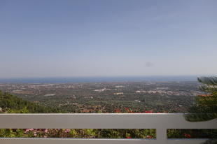 The terrace views