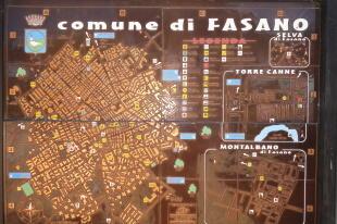 Map of Fasano