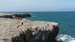 Rocks & the sea