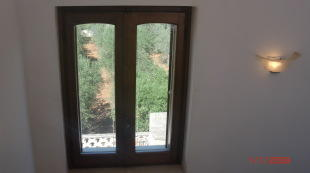 Window at stairs