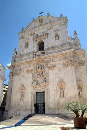 Marina Franca church