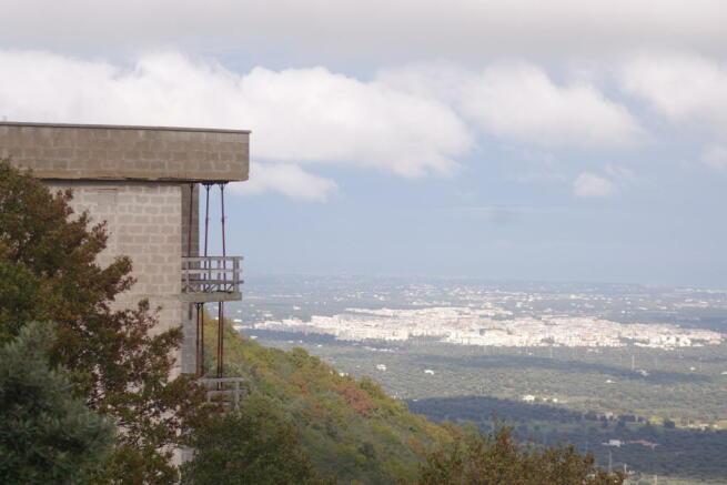 View to Fasano