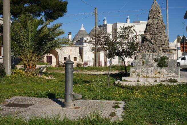Village water pump