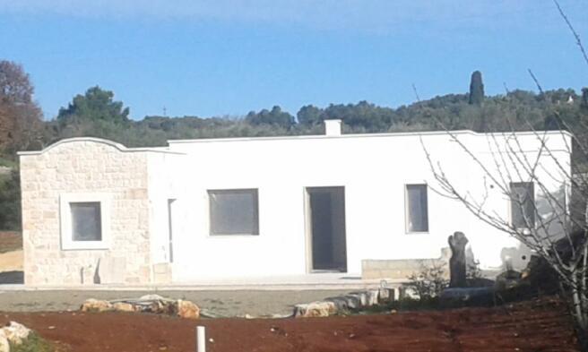 The new villa