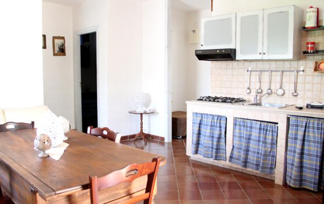 View to kitchenette