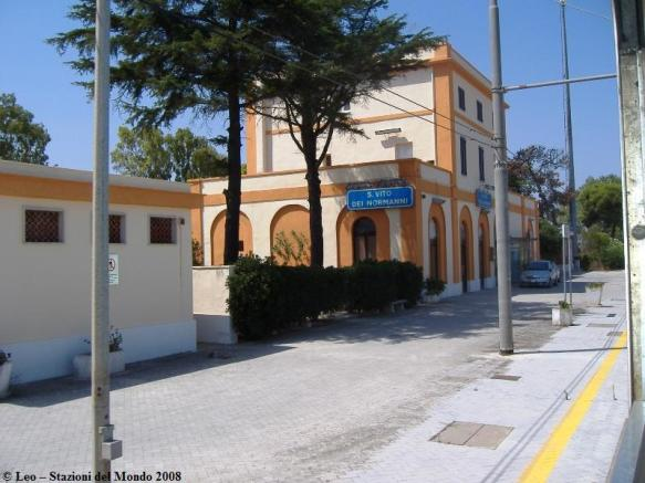 San Vito Train stait