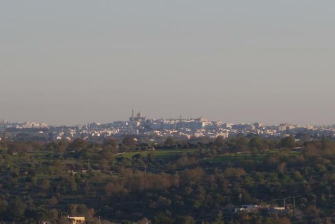 View to Locorotondo