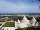 View behind trullo