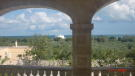 Terrace sea views