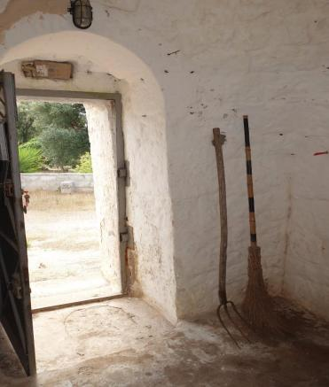 Inside trullo