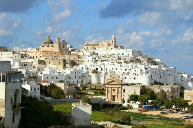 Ostuni- white city!
