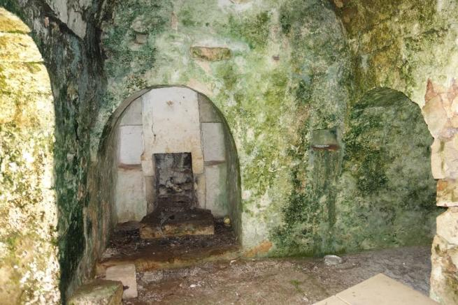 Inside main cottage