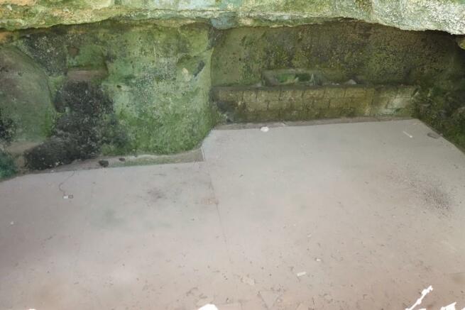 Cave floor