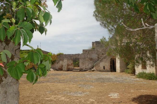 Masseria courtyard