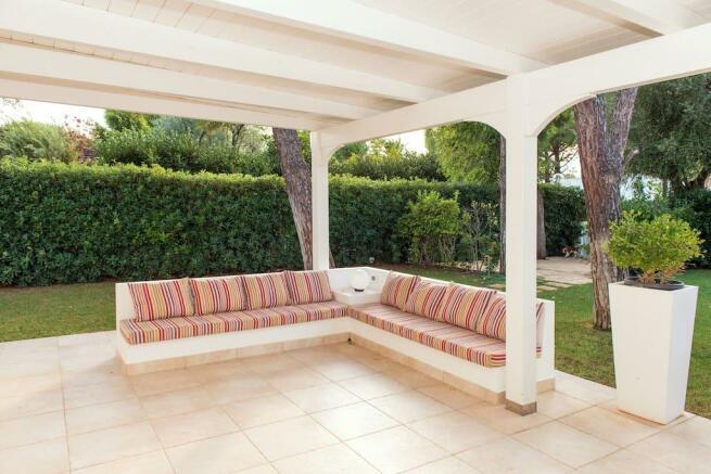 inviting veranda
