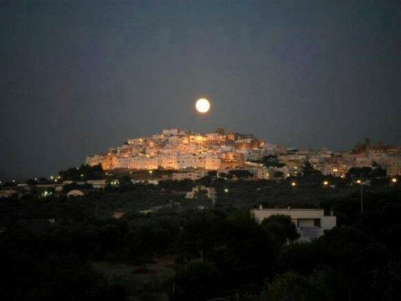ostuni by night