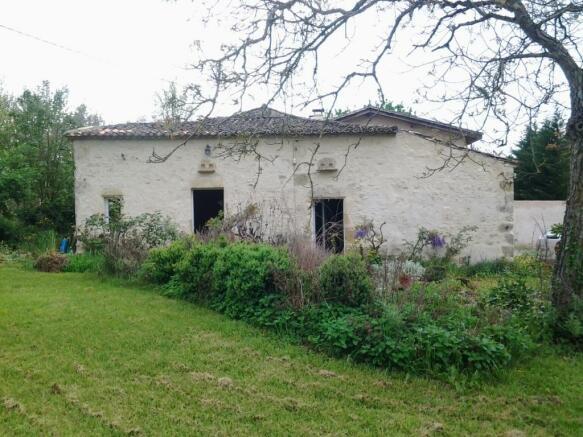 façade in spring