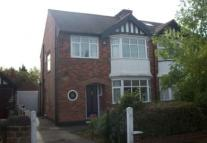 3 bedroom semi detached property in Davies Road...