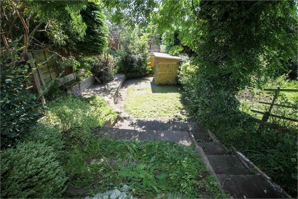 Rear garden angle 1