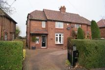 3 bedroom semi detached house for sale in Hulme Lane, Lower Peover.