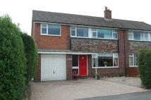 4 bed semi detached property in Shaw Drive, Knutsford...
