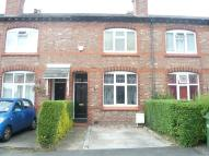 Terraced home in Simpson Street, Wilmslow...