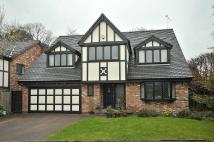 Detached house in Corner Croft, Wilmslow...