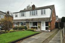semi detached house in Parkland Close, Appleton...