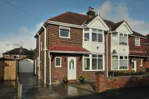 semi detached property in Shadewood Crescent...
