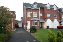 Town House in Bramble Way, Burscough