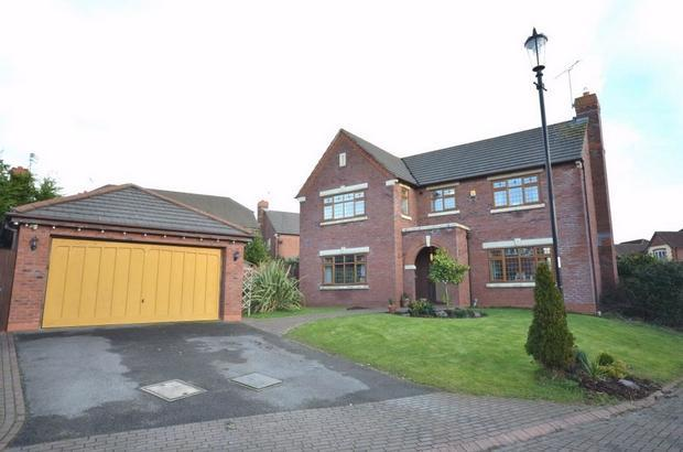 4 Bedroom Detached House For Sale In Whitstable Park WIDNES