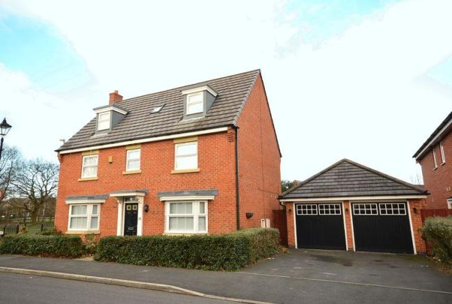 5 bedroom detached house for sale in lingwell park widnes for Home architecture widnes