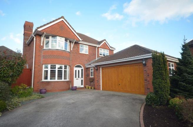 4 bedroom detached house for sale in chislet court upton for Home architecture widnes